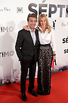 Actor Ricardo Darín and actress Belen Rueda attend the 'Septimo' premiere photocall at Capitol cinemas on November 5, 2013 in Madrid, Spain. (ALTERPHOTOS/Victor Blanco)