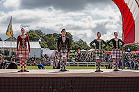 Scotland Highland games Bute Island Concorso di ballo scozzese  Scottish dance