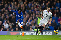 Chelsea's Willian scores the opening goal <br /> <br /> Photographer Craig Mercer/CameraSport<br /> <br /> The Premier League - Chelsea v Crystal Palace - Saturday 10th March 2018 - Stamford Bridge - London<br /> <br /> World Copyright &copy; 2018 CameraSport. All rights reserved. 43 Linden Ave. Countesthorpe. Leicester. England. LE8 5PG - Tel: +44 (0) 116 277 4147 - admin@camerasport.com - www.camerasport.com