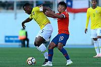 Futbol 2018 Chile vs Brasil Amistoso Sub 20