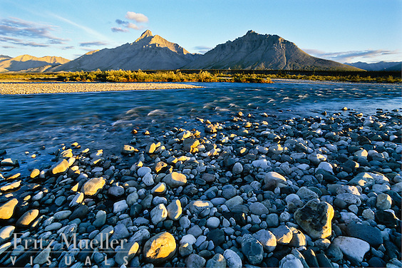Royal Mountain on the Wind River, Yukon