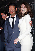 NEW YORK, NY August 09, 2017Destin Daniel Cretton, Jeannette Walls attend Lionsgate presents a special screening of The Glass Castle at SVA Theater in New York August 09 2017.<br /> CAP/MPI/RW<br /> &copy;RW/MPI/Capital Pictures
