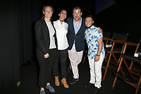"LOS ANGELES, CA- Kerri Stoughton-Jackson, Lucy Mukerjee-Brown, Christopher Racster, Kieran Medina, At 2017 Outfest Los Angeles LGBT Film Festival - Closing Night Gala Screening Of ""Freak Show"" at The Theatre at Ace Hotel, California on July 16, 2017. Credit: Faye Sadou/MediaPunch"