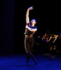 English National Ballet <br /> Emerging Dancer 2015 <br /> at Queen Elizabeth Hall, Southbank, London, Great Britain <br /> 23rd March 2015 <br /> <br /> <br /> Jinhao Zhang in Dying Swan <br /> WINNER of the Emerging Dancer 2015 <br /> <br /> <br /> <br /> Photograph by Elliott Franks <br /> Image licensed to Elliott Franks Photography Services