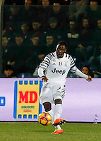 Kwadwo Asamoah  during the  italian serie a soccer match,between Crotone and Juventus      at  the Scida   stadium in Crotone  Italy , February 08, 2017