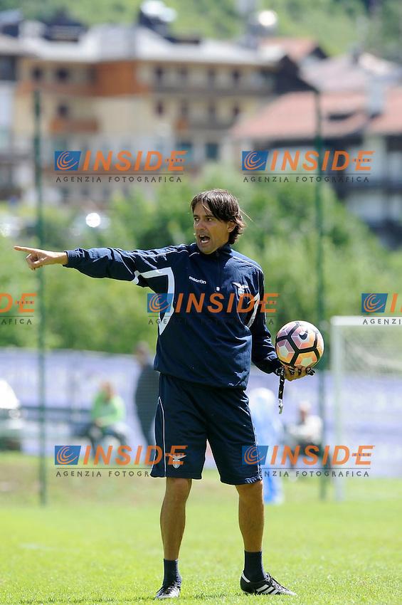 Simone Inzaghi<br /> 15-07-2016 Auronzo di Cadore ( Belluno )<br /> Ritiro estivo S.S. Lazio ad Auronzo di Cadore in preparazione per la stagione 20166-2017<br /> SS Lazio pre season training camp <br /> @ Marco Rosi / Fotonotizia / Insidefoto