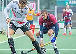 AMSTELVEEN - Enzo Torossi (HCKZ)  tijdens de hoofdklasse competitiewedstrijd mannen, Amsterdam-HCKC (1-0).  COPYRIGHT KOEN SUYK