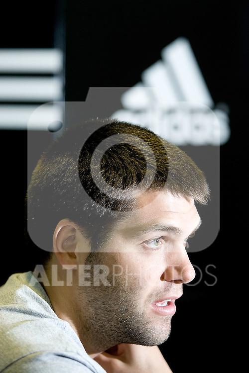 Real Madrid's and Spain's Felipe Reyes. (ALTERPHOTOS/Alvaro Hernandez)