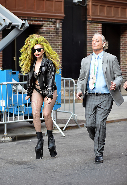 WWW.ACEPIXS.COM<br /> <br /> April 2 2014, New York City<br /> <br /> Lady Gaga and Bill Murray made an appearance at The Late Show on April 2 2014 in New York City<br /> <br /> By Line: Curtis Means/ACE Pictures<br /> <br /> <br /> ACE Pictures, Inc.<br /> tel: 646 769 0430<br /> Email: info@acepixs.com<br /> www.acepixs.com