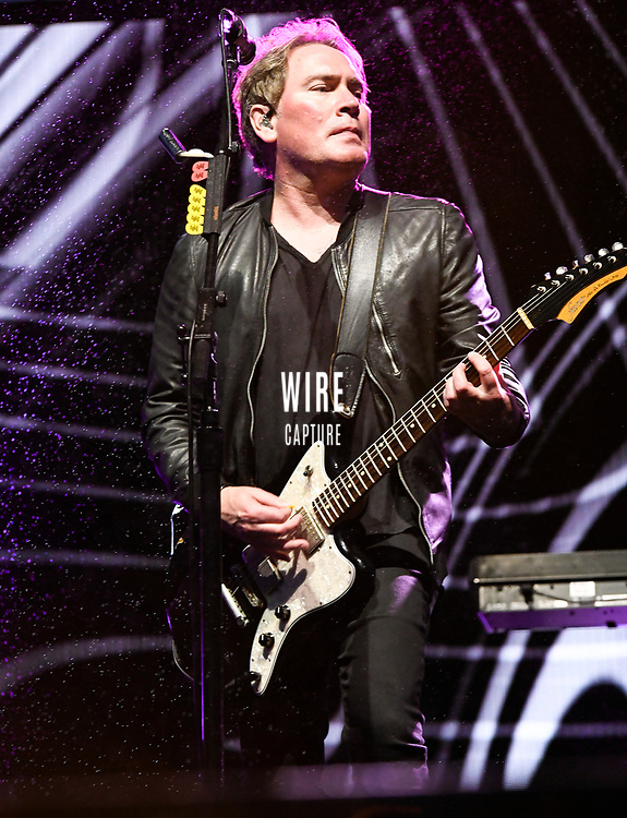 Brad Fernquist Guitar for the  Goo Goo Dolls at Fivepoint Amphitheatre in Irvine Ca. on June 16th, 2019