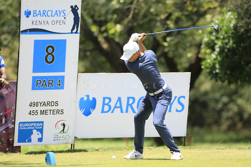 Matthias Schwab (AUT) during the final round of the Barclays Kenya Open played at Muthaiga Golf Club, Nairobi, Kenya 22nd - 25th March 2018 (Picture Credit / Phil Inglis) 22/03/2018<br /> <br /> <br /> All photo usage must carry mandatory copyright credit (&copy; Golffile | Phil Inglis)