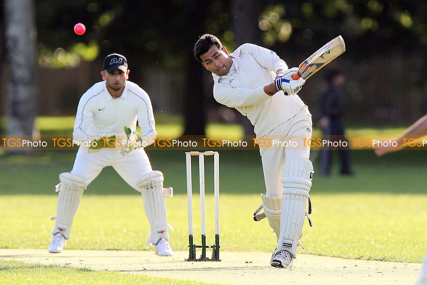 Martians CC (batting) vs Junoon CC - Victoria Park Community Cricket League - 21/06/11 - MANDATORY CREDIT: TGSPHOTO - Self billing applies where appropriate - Tel: 0845 094 6026