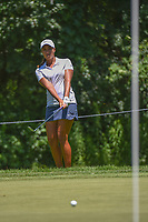 Cheyenne Woods (USA) chips on to 12 during round 2 of the 2018 KPMG Women's PGA Championship, Kemper Lakes Golf Club, at Kildeer, Illinois, USA. 6/29/2018.<br /> Picture: Golffile | Ken Murray<br /> <br /> All photo usage must carry mandatory copyright credit (&copy; Golffile | Ken Murray)