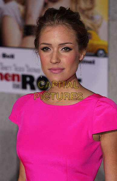 """KRISTIN CAVALLARI .""""When In Rome"""" Los Angeles Premiere - Arrivals held at The El Capitan Theater, Hollywood, CA, USA, .27th January 2010..portrait headshot gold earrings dangly hair up make-up eyeliner pink neon fluorescent.CAP/ADM/CH.©Charles Harris/AdMedia/Capital Pictures"""