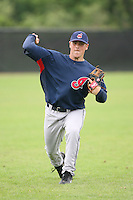 March 20th 2008:  Peter Zocchi of the Cleveland Indians minor league system during Spring Training at Chain of Lakes Training Complex in Winter Haven, FL.  Photo by:  Mike Janes/Four Seam Images
