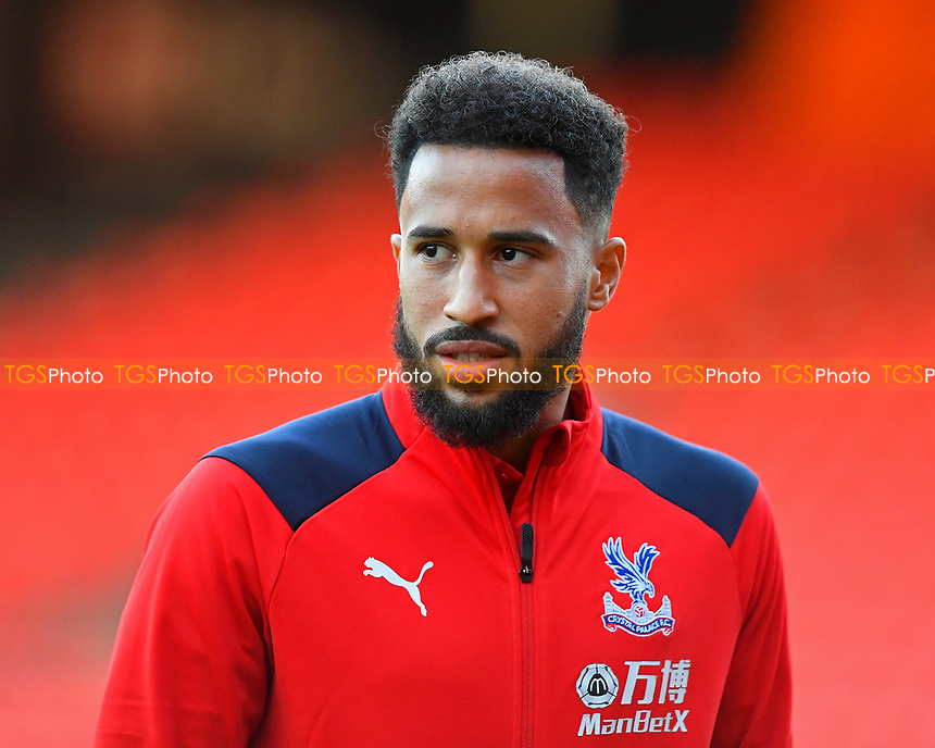 Andros Townsend of Crystal Palace during AFC Bournemouth vs Crystal Palace, Premier League Football at the Vitality Stadium on 1st October 2018