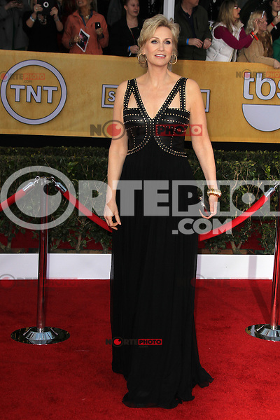 LOS ANGELES, CA - JANUARY 27: Jane Lynch at The 19th Annual Screen Actors Guild Awards at the Los Angeles Shrine Exposition Center in Los Angeles, California. January 27, 2013. Credit: mpi27/MediaPunch Inc. /NortePhoto /NortePhoto