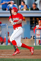 August 5, 2009:  Outfielder Jon Edwards of the Batavia Muckdogs during a game at Dwyer Stadium in Batavia, NY.  The Muckdogs are the Short-Season Class-A affiliate of the St. Louis Cardinals.  Photo By Mike Janes/Four Seam Images