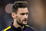 Goalkeeper Hugo Lloris of Tottenham Hotspur FC prior to the UEFA Champions League 2017-18 match between Real Madrid and Tottenham Hotspur FC at Estadio Santiago Bernabeu on 17 October 2017 in Madrid, Spain. Photo by Diego Gonzalez / Power Sport Images