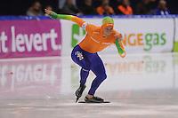 SCHAATSEN: HEERENVEEN: IJsstadion Thialf, 17-11-2012, Essent ISU World Cup, Season 2012-2013, Men 1st 500 meter Division A, Michel Mulder (NED), ©foto Martin de Jong