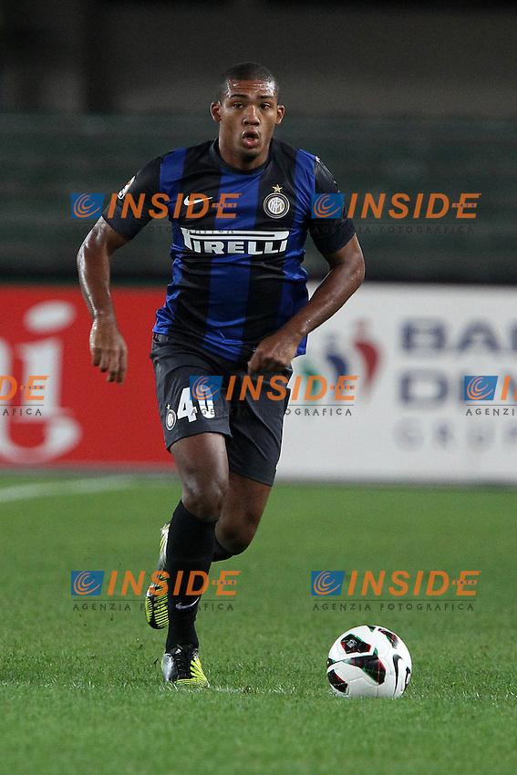 "Juan Jesus Inter.Verona 26/09/2012 Stadio ""Bentegodi"".Football Calcio Serie A 2012/13.Chievo v Inter.Foto Insidefoto Paolo Nucci."