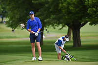 Carlota Ciganda (ESP) looks over her trap shot on 1 during the round 3 of the KPMG Women's PGA Championship, Hazeltine National, Chaska, Minnesota, USA. 6/22/2019.<br /> Picture: Golffile | Ken Murray<br /> <br /> <br /> All photo usage must carry mandatory copyright credit (© Golffile | Ken Murray)