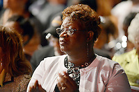 MIAMI, FL - MAY 05: Lucille O'Neal attends her son Shaquille O'Neal's graduation where he received a doctoral degree in education from Barry University at James L Knight Center on May 5, 2012 in Miami, Florida.  (photo by: MPI10/MediaPunch Inc.)