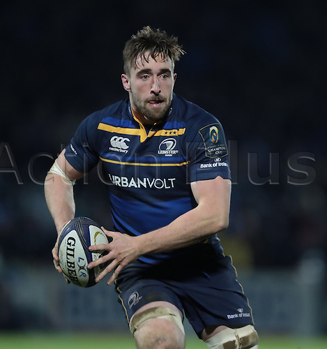 13.01.2017. RDS Arena, Dublin, Ireland. European Champions Cup Rugby. Leinster versus Montpellier.<br />