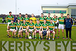 The Kerry  who defeated Cork IT in the semi final of the McGrath Cup at John Mitchells Grounds on Sunday.