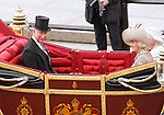 """PRINCE CHARLES AND CAMILLA.ride in the carriage procession from Westminster Hall to Buckingham Palace, on the occasion of the Queen's Diamond Jubilee Celebration_London_05/06/2012.Mandatory Credit Photo: ©SB/NEWSPIX INTERNATIONAL..**ALL FEES PAYABLE TO: """"NEWSPIX INTERNATIONAL""""**..IMMEDIATE CONFIRMATION OF USAGE REQUIRED:.Newspix International, 31 Chinnery Hill, Bishop's Stortford, ENGLAND CM23 3PS.Tel:+441279 324672  ; Fax: +441279656877.Mobile:  07775681153.e-mail: info@newspixinternational.co.uk"""