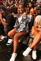 BROOKLYN, NEW YORK - JULY 21, 2016 Justine Skye attendst the Roc Nation Summer Classic Charity Basketball Game July 21, 2016 at The Barclays Center in Brooklyn, New York. Photo Credit: Walik Goshorn / Media Punch