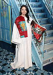Catherine Ricafort from 'Miss Saigon' during the Actors' Equity Broadway Opening Night Gypsy Robe Ceremony honoring Manoel Felciano for 'Amelie' at the Walter Kerr Theatre on April 3, 2017 in New York City