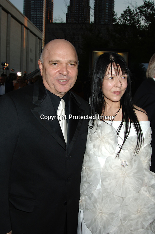 Anthony Minghella and wife Caroline..arriving at The Opening of The Metropolitan Opera's 2006-2007 Season on September 25, 2006 in the Lincoln Center Plaza. ..Robin Platzer, Twin Images..