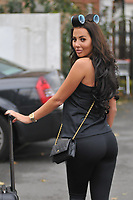 Yasmin Oukhellou<br /> arriving for filming for the Towie Diwali party at sugar hut brentwood essex <br /> <br /> &copy;Richard Open snappers