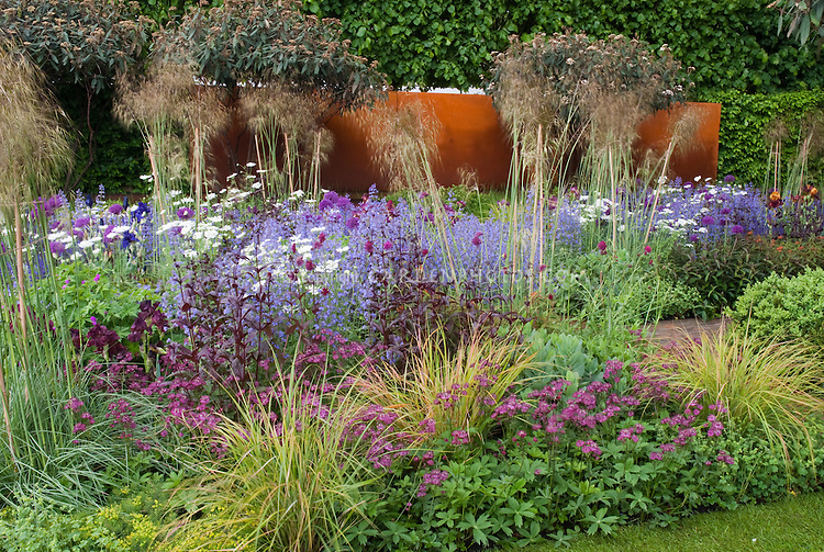 Fabulous garden chelsea flower show plant flower for Planting plans with grasses