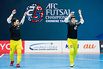 Iraq vs Japan during the AFC Futsal Championship Chinese Taipei 2018 Semi Finals match at Xinzhuang Gymnasium on 09 February 2018, in Taipei, Taiwan. Photo by Yu Chun Christopher Wong / Power Sport Images