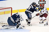 Jeff Malcolm (Yale - 33), Nick Jaskowiak (Yale - 5), Joe Whitney (BC - 15) - The Boston College Eagles defeated the Yale University Bulldogs 9-7 in the Northeast Regional final on Sunday, March 28, 2010, at the DCU Center in Worcester, Massachusetts.