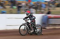Zach Wajtknecht of Lakeside Hammers<br /> <br /> Photographer Rob Newell/CameraSport<br /> <br /> National League Speedway - Lakeside Hammers v Eastbourne Eagles - Lee Richardson Memorial Trophy, First Leg - Friday 14th April 2017 - The Arena Essex Raceway - Thurrock, Essex<br /> &copy; CameraSport - 43 Linden Ave. Countesthorpe. Leicester. England. LE8 5PG - Tel: +44 (0) 116 277 4147 - admin@camerasport.com - www.camerasport.com