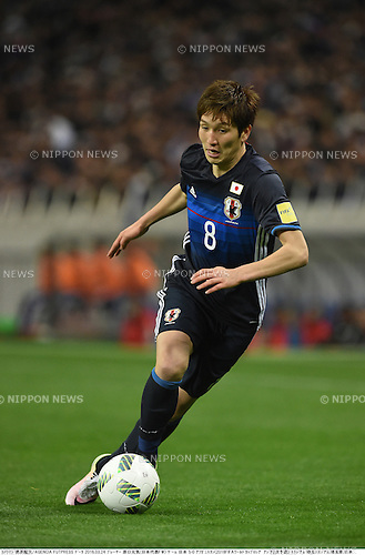 Genki Haraguchi (JPN),<br /> MARCH 24, 2016 - Football / Soccer :<br /> FIFA World Cup Russia 2018 Asian Qualifier Second Round Group E match between Japan 5-0 Afghanistan at Saitama Stadium 2002 in Saitama, Japan. (Photo by Takamoto Tokuhara/AFLO)