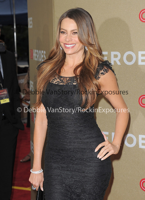 Sofia Vergara attends CNN Heroes - An Allstar Tribute held at The Shrine Auditorium in Los Angeles, California on December 11,2011                                                                               © 2011 DVS / Hollywood Press Agency