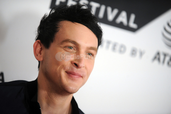 NEW YORK, NY - SEPTEMBER 23: Robin Lord Taylor  attends 'Gotham' sneak peek during Tribeca TV Festival at Cinepolis Chelsea on September 23, 2017 in New York City <br /> <br /> People:  Robin Lord Taylor<br /> <br /> Transmission Ref:  MNC1<br /> <br /> MPI122 / MediaPunch