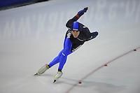 SCHAATSEN: GRONINGEN: Sportcentrum Kardinge, 03-02-2013, Seizoen 2012-2013, Gruno Bokaal, Mark Ooijevaar, ©foto Martin de Jong