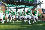 DENTON, TX - SEPTEMBER 01: Mean Green football vs SMU Mustangs at Apogee Stadium in Denton on September 01, 2018 in Denton, Texas. (Photo by Rick Yeatts)