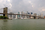 Brooklyn Bridge and downtown Manhattan.....