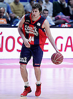 Caja Laboral Baskonia's Nemanja Bjelica during Liga Endesa ACB match.January 6,2012. (ALTERPHOTOS/Acero) /NortePhoto