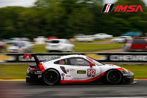 IMSA WeatherTech SportsCar Championship<br /> Continental Tire Road Race Showcase<br /> Road America, Elkhart Lake, WI USA<br /> Friday 4 August 2017<br /> 912, Porsche, Porsche 911 RSR, GTLM, Gianmaria Bruni, Laurens Vanthoor<br /> World Copyright: Jake Galstad<br /> LAT Images