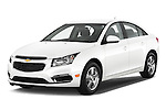 2015 Chevrolet Cruze 4-Door Sedan 2LT Automatic 4 Door  Angular Front stock photos of front three quarter view