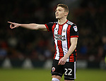 Caolan Lavery of Sheffield Utd during the Championship match at Bramall Lane Stadium, Sheffield. Picture date 26th December 2017. Picture credit should read: Simon Bellis/Sportimage