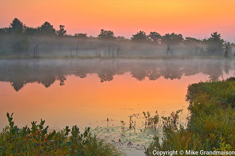 Dawn on Highland Pond<br />