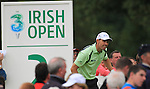 padraig Harrington teeing off on the second on the final day of the 3 Irish Open, at the Killarney Golf and Fishing Club, Killarney, Ireland.Picture Fran Caffrey/www.golffile.ie.